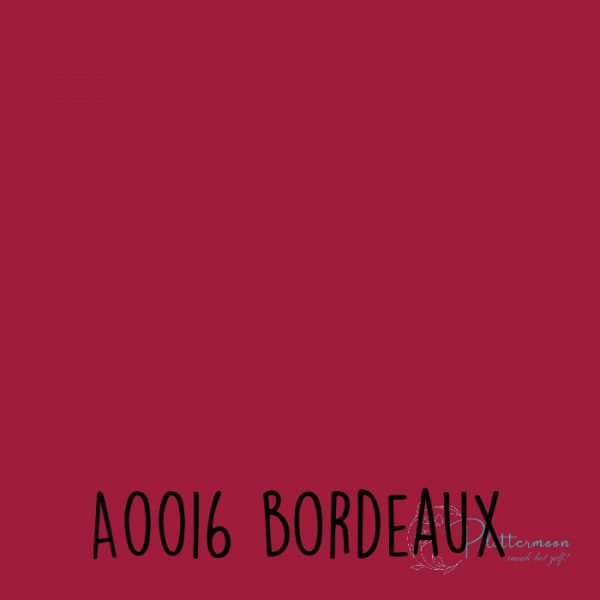 Siser effen flex A0016 Burgundy