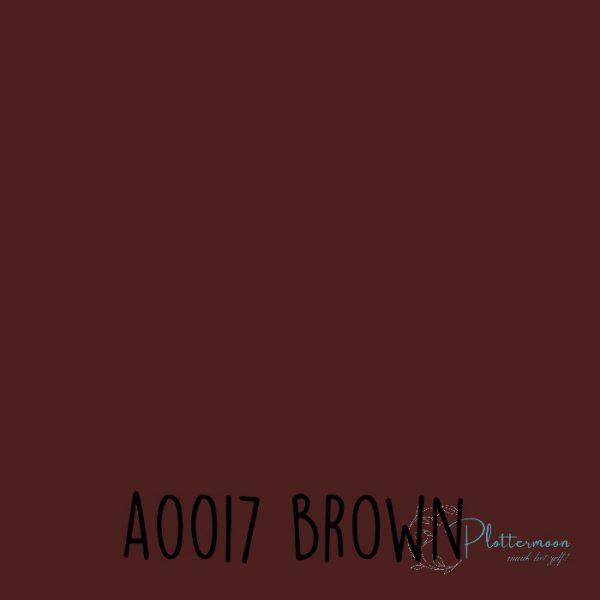 Siser effen flex A0017 Brown