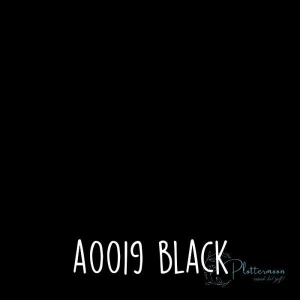 Siser effen flex A0019 Black