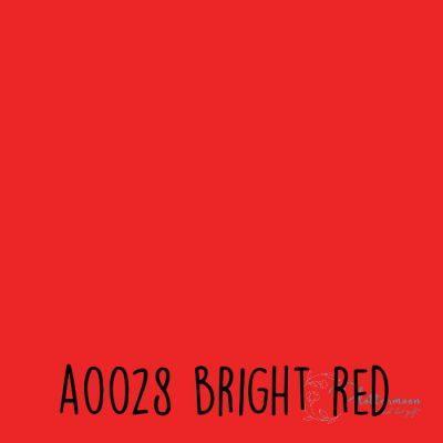 Siser effen flex A0028 Bright red