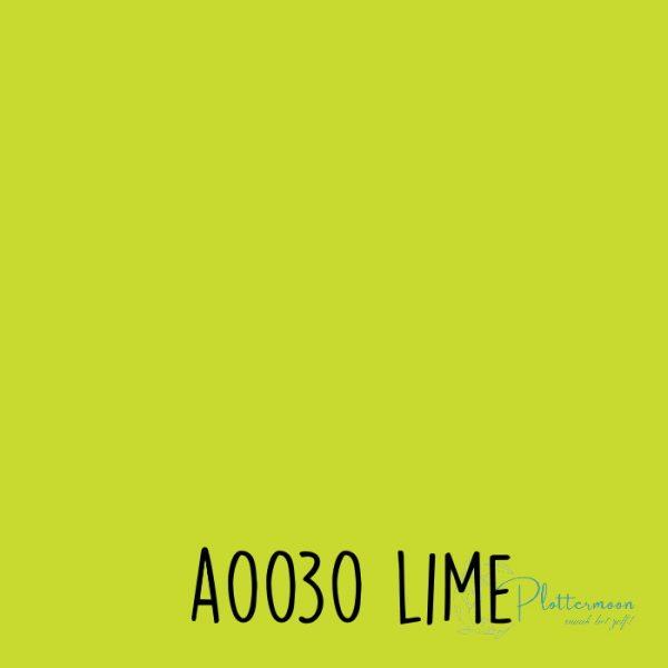 Siser effen flex A0030 Lime