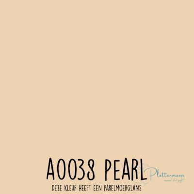 Siser effen flex A0038 Pearl