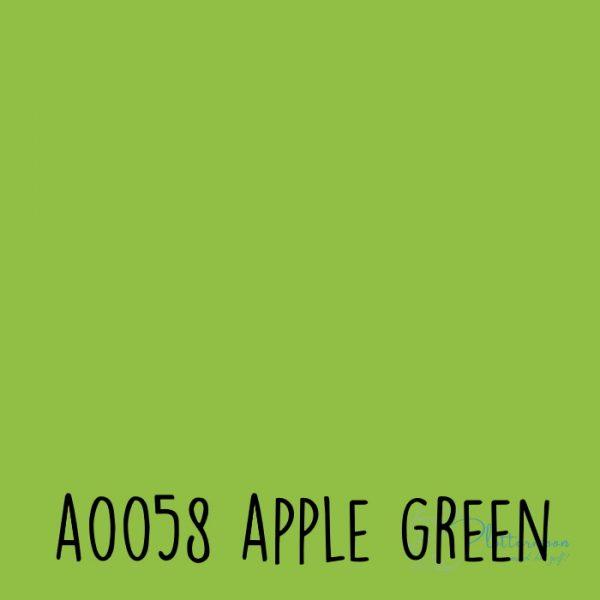 Siser effen flex A0058 Apple green