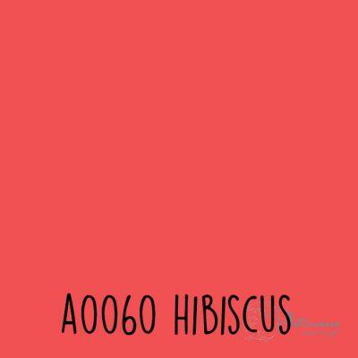 Siser effen flex A0060 Hibiscus