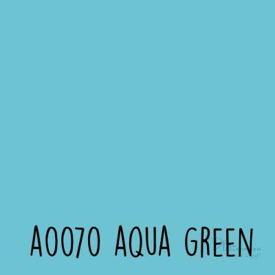 Siser effen flex A0070 Aqua green