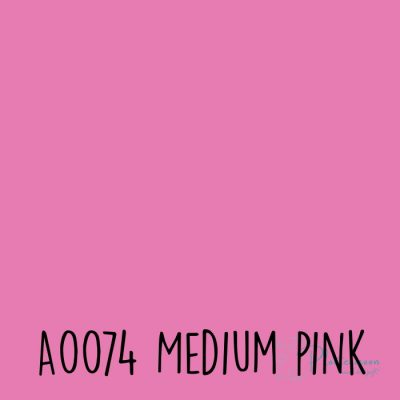Siser effen flex A0074 Medium pink