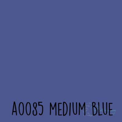 Siser effen flex A0085 Medium blue