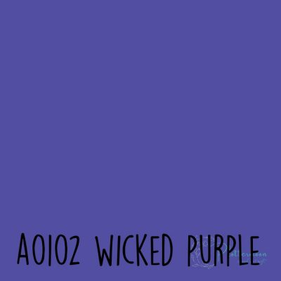 Siser effen flex A0102 Wicked purple