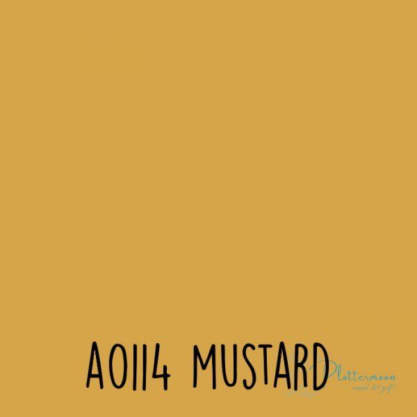 Siser effen flex A0114 Mustard