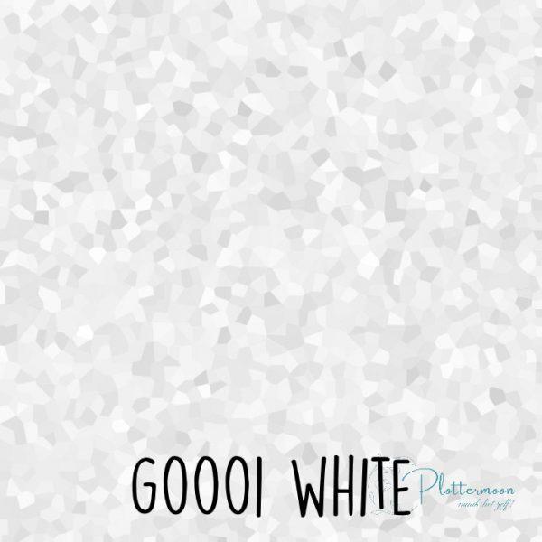 Siser glitter flex G0001 White
