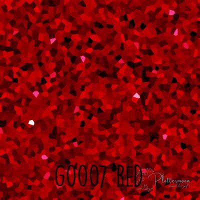 Siser glitter flex G0007 Red