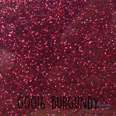 Siser glitter flex G0016 Burgundy