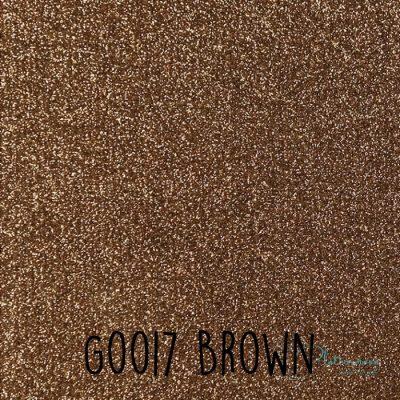 Siser glitter flex G0017 Brown