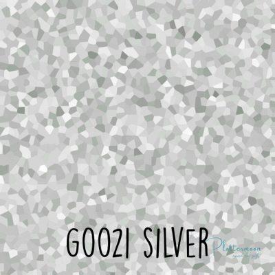 Siser glitter flex G0021 Silver