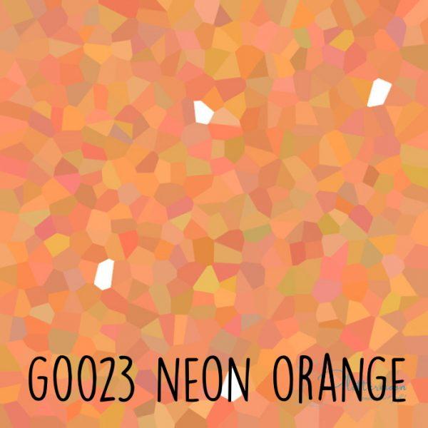 Siser glitter flex G0023 Neon orange