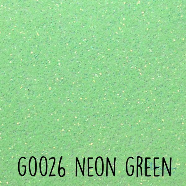 Siser glitter flex G0026 Neon green