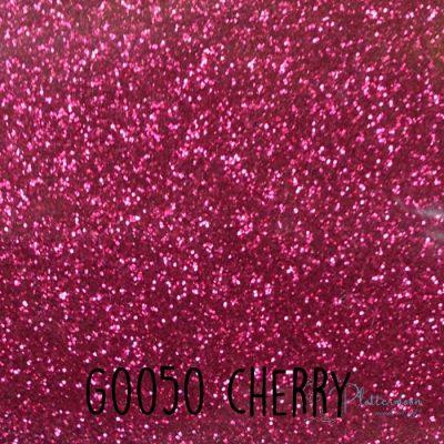 Siser glitter flex G0050 Cherry