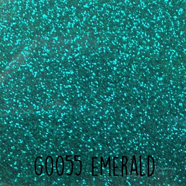 Siser glitter flex G0055 Emerald