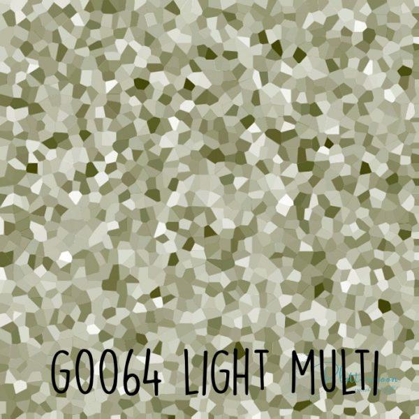 Siser glitter flex G0064 Light multi