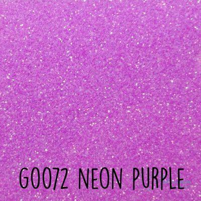 Siser glitter flex G0072 Neon purple