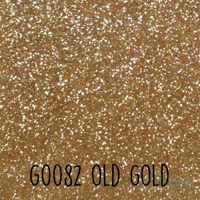 Siser glitter flex G0082 Old gold
