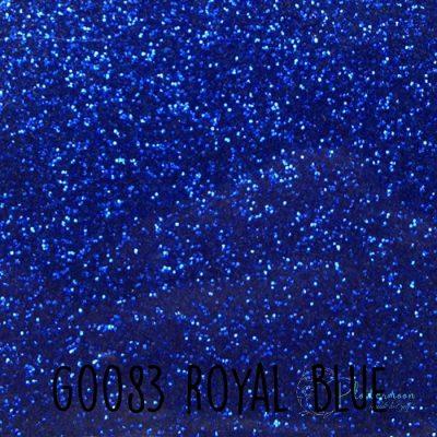 Siser glitter flex G0083 Royal blue