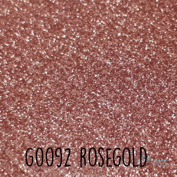 Siser glitter flex G0092 Rosegold