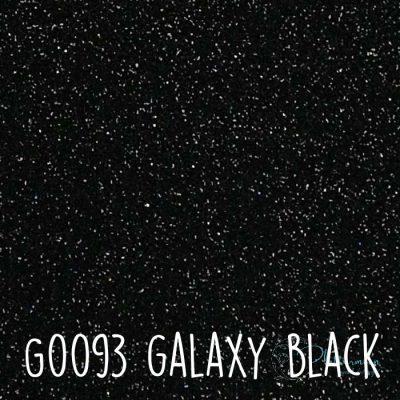 Siser glitter flex G0093 Galaxy black