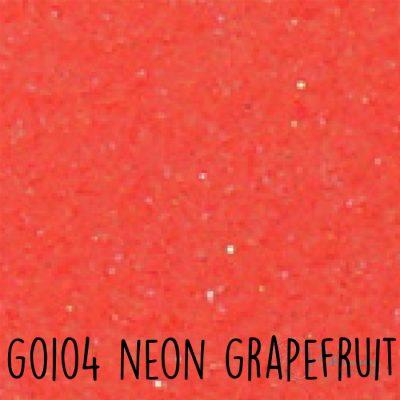 Siser glitter flex G0104 Neon grapefruit
