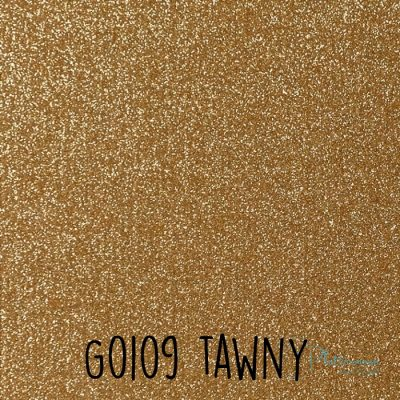 Siser glitter flex G0109 Tawny