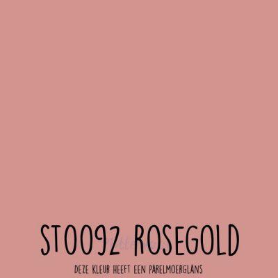 Siser stretch flex ST0092 Rosegold
