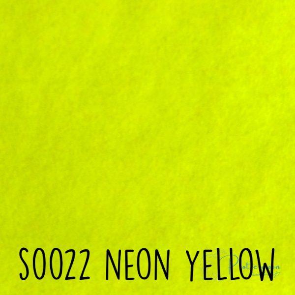 Siser flock S0022 Neon yellow