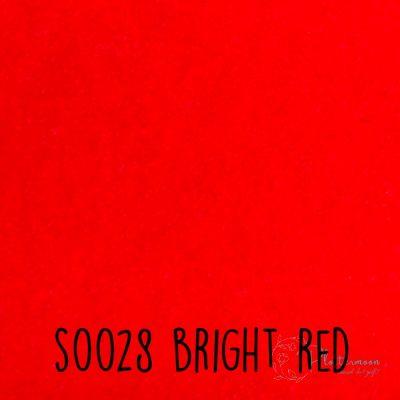Siser flock S0028 Bright red
