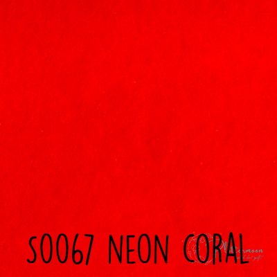 Siser flock S0067 Neon coral